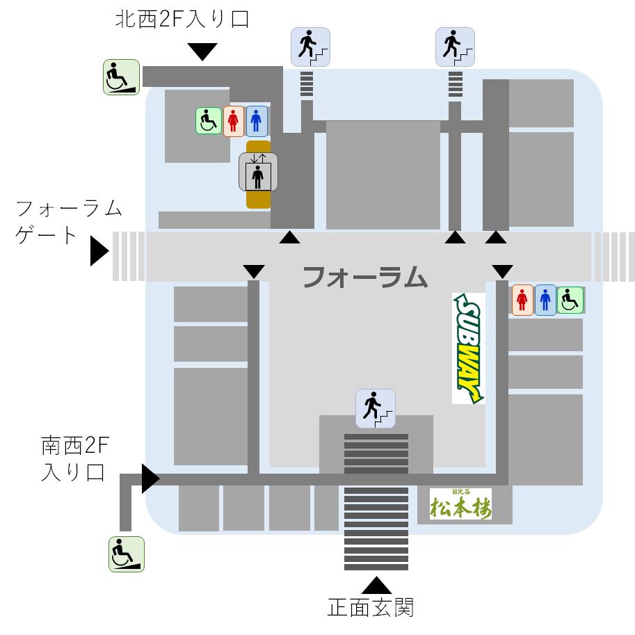 2号館2階